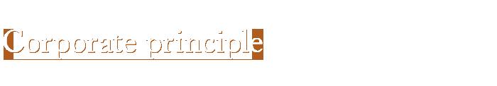Corporate principle