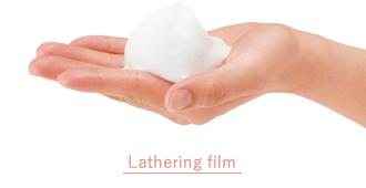 Foam-filled film